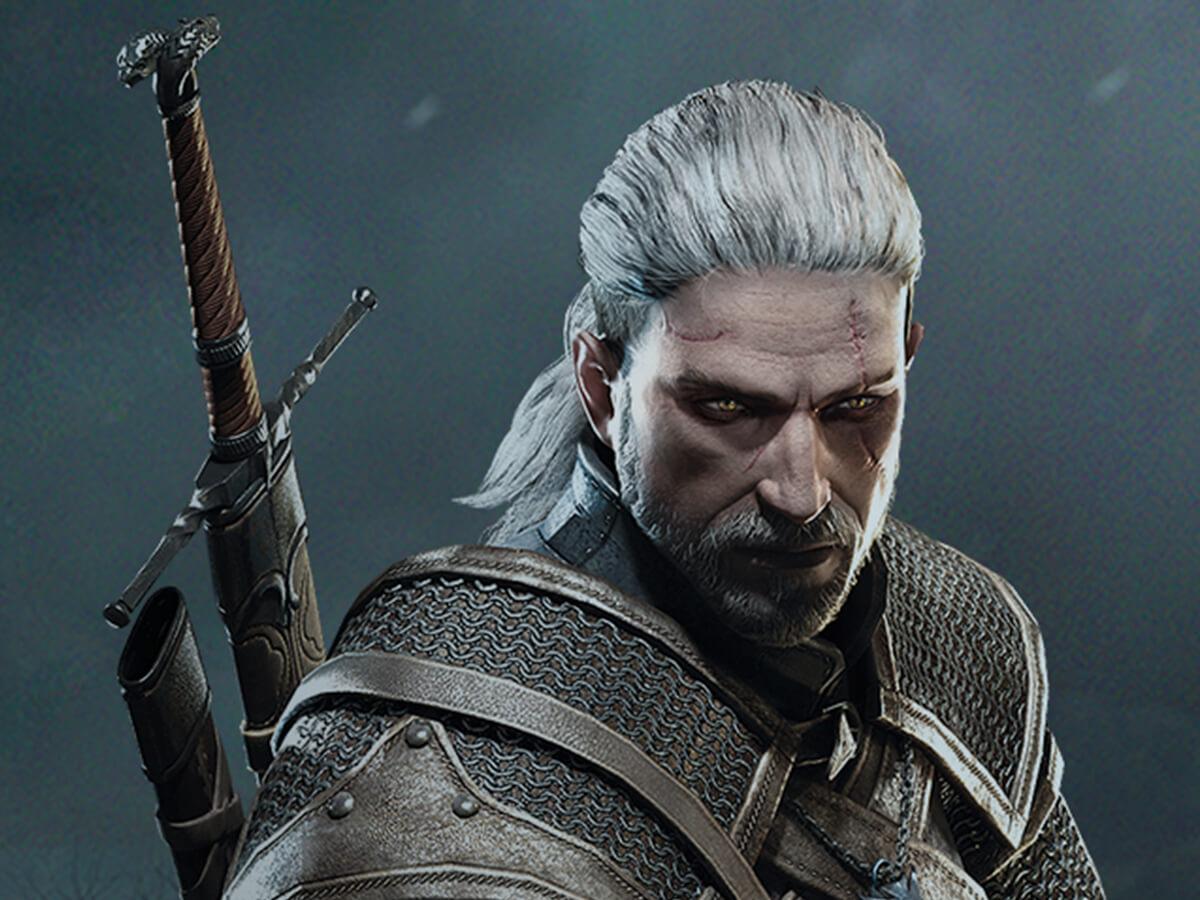 Geralt - Wiedźmin 3