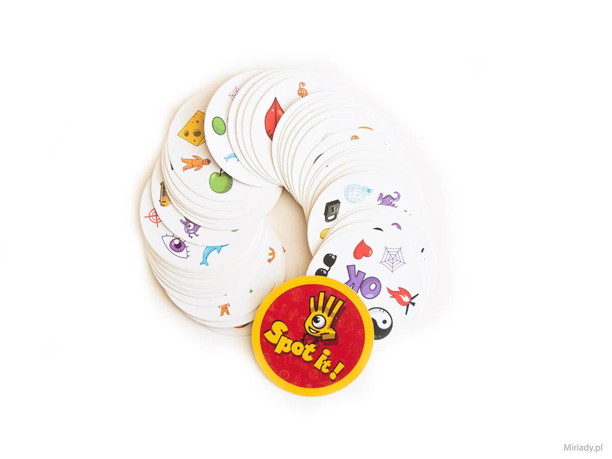 Dobble (Spot it!) – gra karciana dla spostrzegawczych