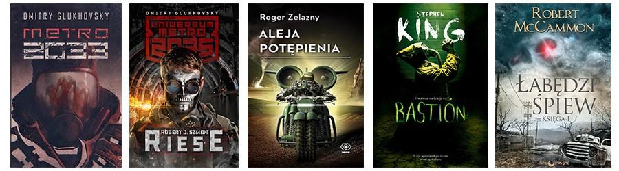 Książki postapokaliptyczne - książki postapo - lista 3