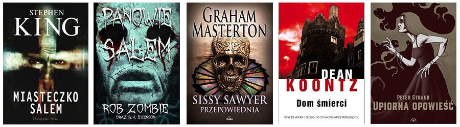 Lista halloween - książki (okładki)