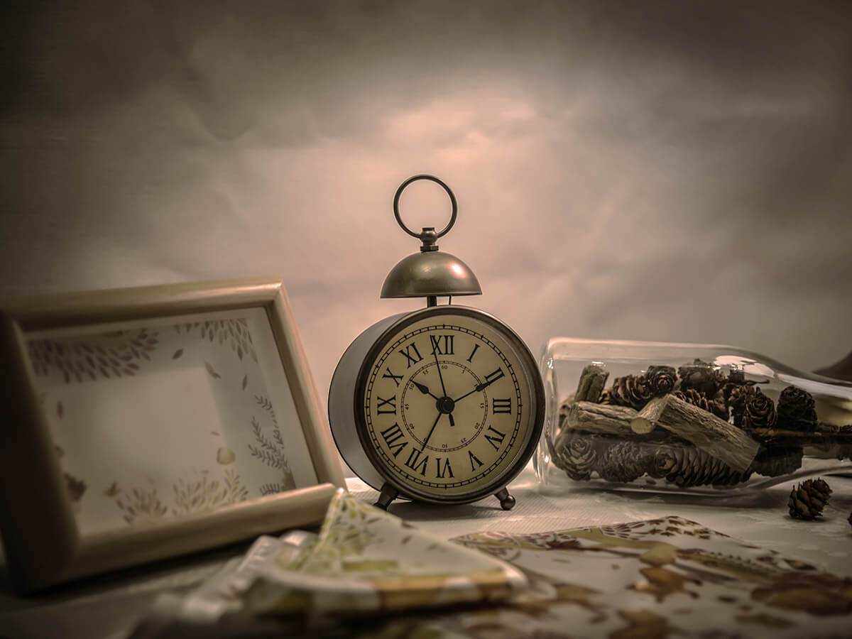 Zegarek - stół