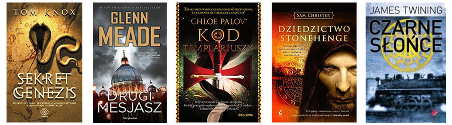 Książki podobne do powieści Dana Browna - lista 2