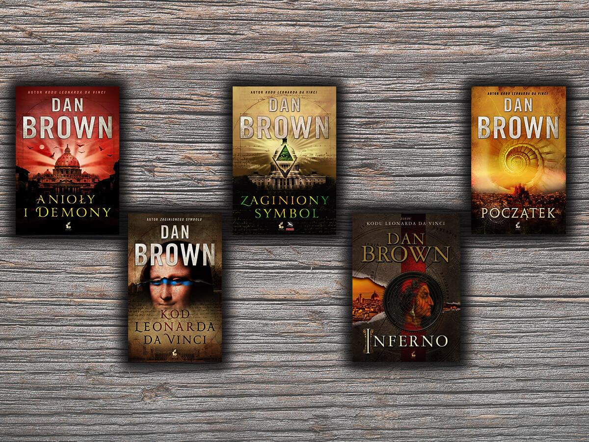 Książki podobne do powieści Dana Browna