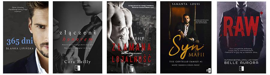 Romanse mafijne. Książki o mafii i miłości - lista 1
