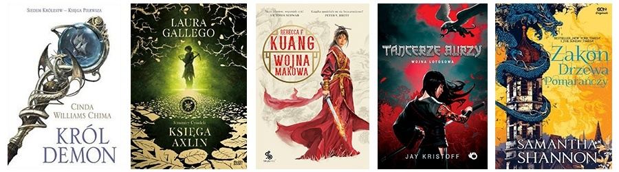 Lista książek fantasy dla młodzieży 3