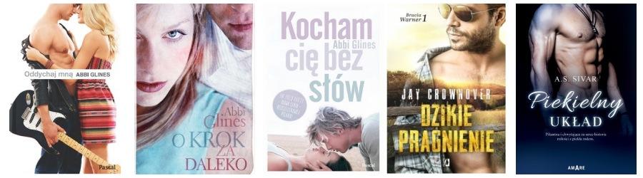 Książki erotyczno romantyczne - lista 1
