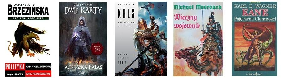 Lista książek podobnych do Wiedźmina 3